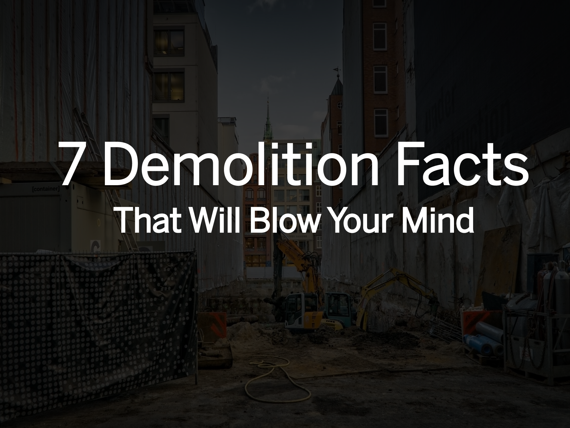 facts about demolition company windsor ontario