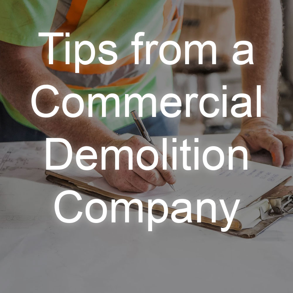 tips from a demolition company in windsor