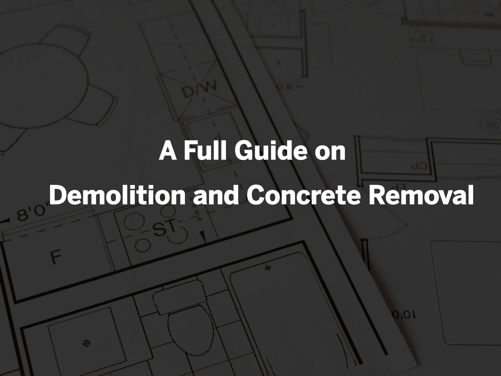 demolition services and concrete removal guide rks services group windsor