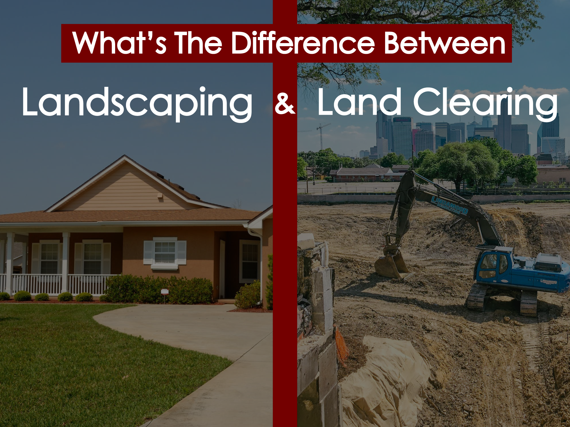 landscaping and land clearing company