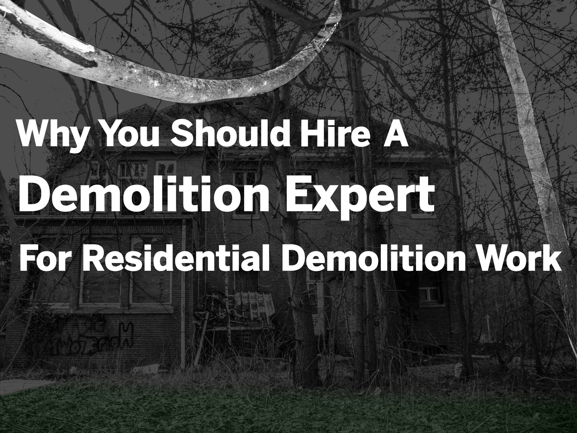 residential demolition company