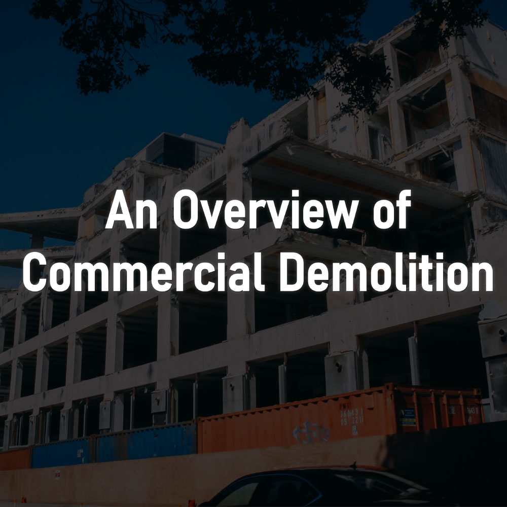commercial demolition summary from RKS Services Group Inc