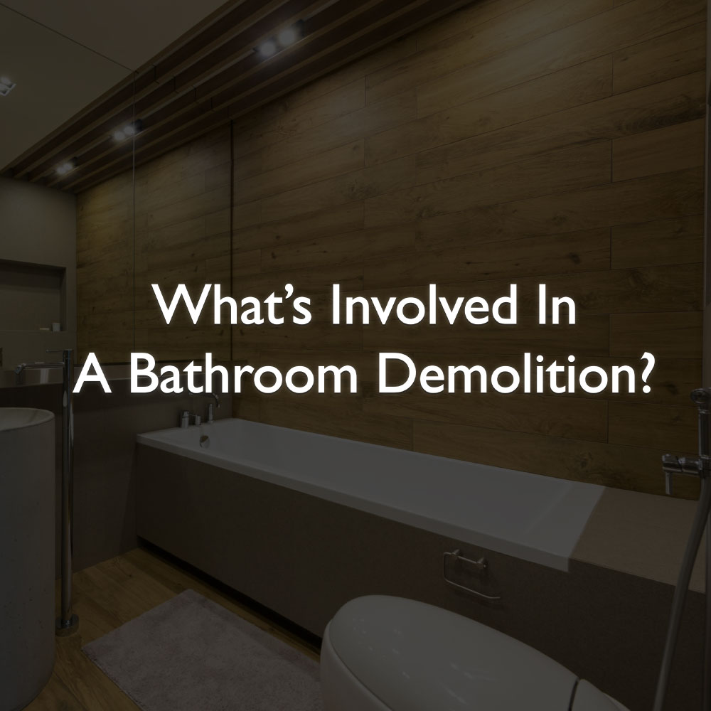 How to do a bathroom demolition RKS Services Group Inc